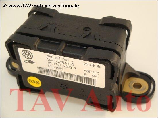 Esp Duo Sensor Vw 7h0 907 655 A Ate 10170103663 Yaw Rate