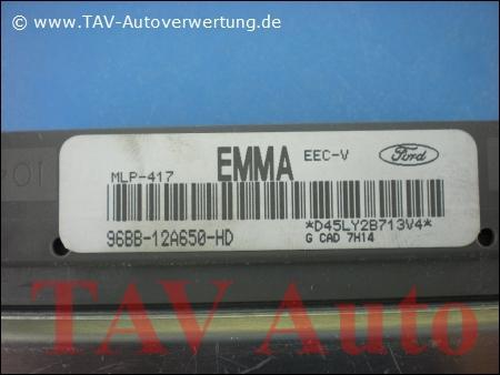 Engine control unit Ford 96BB12A650HD EMMA MLP417 EECV