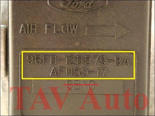 1997 ford escort mass air flow sensor