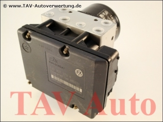 ABS/EDS Hydraulikblock VW 1J0614217C 1J0907379H Ate 10.0204-0143.4 10.0949-0341.3