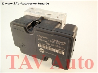 ABS/MABS Hydraulikblock VW 1K0614117H 1K0907379P Ate 10.0207-0054.4 10.0970-0315.3