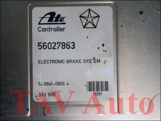 ABS Steuergeraet 56027863 Ate 10.0941-0903.4 Jeep Grand Cherokee