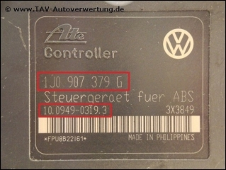 ABS Control unit VW 1J0-907-379-G 1J0-907-375-N