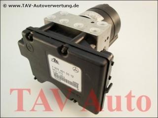 ASR/ETS Hydraulic unit Mercedes A 003-431-03-12 Ate 10020400144