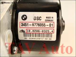 DSC Hydraulic unit BMW 34516776055-01 34526776056-01 Ate 10020603254 10096008373 000404014D0