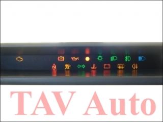 Dashboard Warning Lights 7-700-421-765-G VDO 231-020-035-002 Renault Twingo Display 7700-421-765