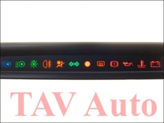 Dashboard Warning Lights 7700-427-311 2350000 Renault Twingo Display