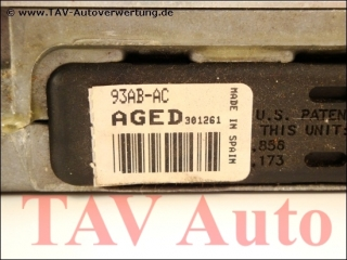 Motor-Steuergeraet Ford 93AB-12A650-AC AGED SMO-270 EEC-IV 6918454