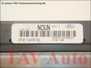 Motor-Steuergeraet Ford 97KB-12A650-BC NOUN LPE-307 EEC-V