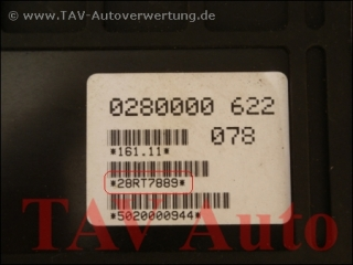 Motor-Steuergeraet Bosch 0280000621 030906021J 28RT7889 VW Golf Jetta Polo 1.3 NZ