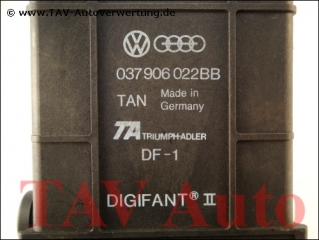 Motor-Steuergeraet VW 037906022BB TAN DF-1 Digifant ® II
