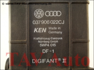 Motor-Steuergeraet VW 037906022CJ KEN 5WP4015 DF-1 Digifant ® II