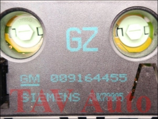 Display Multifunktionsanzeige GM 009164455 GZ Siemens 5WK70005 9164455 9229485 1236548